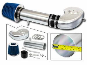 BCP BLUE 94-01 Ram 1500/2500 3.9L V6 5.2L 5.9L V8 Intake Induction Kit +Filter