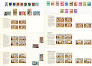 Britisch Jersey 1982 postfrisch komplett, mit Varianten - Kombiversand