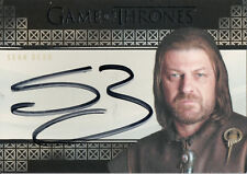 Game of Thrones Valyrian Steel, Sean Bean 'Ned Stark' Autograph Card