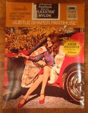 Vintage Jcpenney Gaymode Subtle Shaper Pantyhose, Nylon, Long, Taupe, Nip