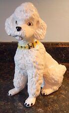 "Nippon Japan Yoko Boeki Co 7-3/4"" Poodle Figurine ~ c1940 ~ EXC ~ Fast Shipping!"