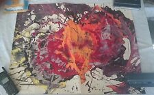 Yves Corbassiere Mixed Media on Paper Listed artist 1964 make offer!