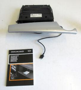 Genuine MINI Apple iPod Interface Silver Compartment for R55 R56 R57 9166600 #2