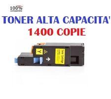 CARTUCCIA PER EPSON ACULASER C1700 C1750 CX17 TONER S050611 YELLOW COMPATIBILE