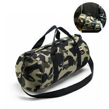 04b1d489c77d BAPE A Bathing Ape Camo Shoulder Bag Handbag Gym Travel Training Outdoor Bag