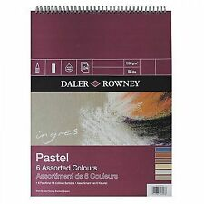 Daler Rowney Ingres Pastel 6 Assorted Colours Spiral Pad 9 X 6""