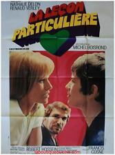 LA LECON PARTICULIERE Affiche Cinéma Movie Poster Katia Christine Nathalie Delon
