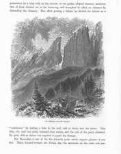 Dolomiten Blattkogel Sellajoch Sentinel Pisada HOLZSTICHE um 1880 Südtirol