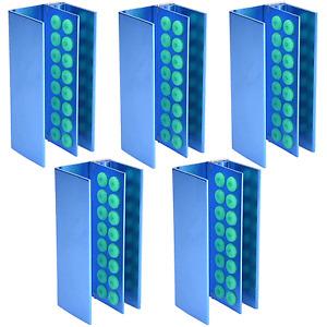5PCS Dental Autoclave Holder 16 Silicon Holes FG RA Burs Block Box Disinfection