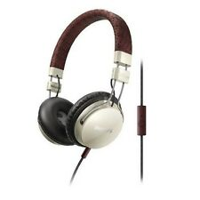 Philips SHL5505/YB Headband headphones with mic Foldie On-ear Cream & brown