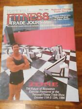 NATIONAL FITNESS TRADE JOURNAL equipment bodybuilding catalog BOYER COE 1986