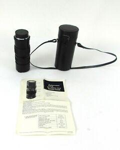Quantaray 85-210mm F3.8 Automatic Lens - Macro/Zoom for Minolta SR, M/MD Mount
