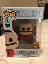 Funko POP! Television - South Park S2 Vinyl Figure - TERRANCE with Flag *Chase*