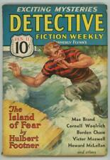 Detective Fiction Weekly Jun 11 1936 Cornell Woolrich; Max Brand