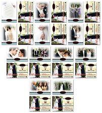 TWILIGHT Breaking Dawn WEDDING ALBUM - 12 Card Set With Sepia Card