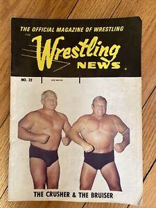 The Wrestling News Magazine No 32 AWA 1975 The Crusher The Bruiser