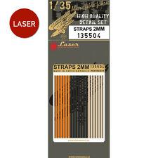 135504 HGW Belts (LASER) - Straps 2mm 1:35
