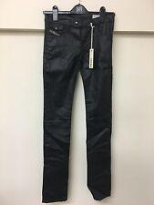 Tito LIVIO-Biker Diesel, Wash 0065Q _ SRETCH Jeans, in nero, taglia-W25 L34.