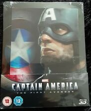 Captain America the first avenger Zavvi Steelbook blu-ray 3D Lenticulaire Neuf