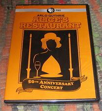 ALICE'S RESTAURANT 50TH ANNIVERSARY CONCERT DVD -Arlo Guthrie, RARE, PBS, Sealed