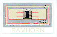 Transformers Generations 1 , G1 AUTOBOT ramhorn Repro Etiquetas/ADHESIVOS
