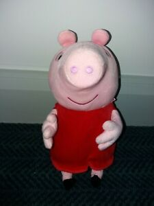 """Peppa Pig Talking / Animated Moving Plush Soft Toy - 12"""" approx"""