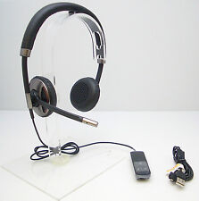 Plantronics Blackwire C720 Stereo USB Bluetooth Computer Headset Tested Working