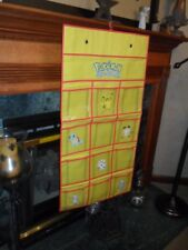 Rare Pokemon Shoe Holder 1999 Nintendo STORAGE ORGANIZER Next Day USA Shipping