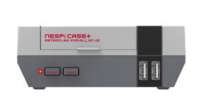 Caja Retroflag NES Pi Plus, caja estilo NES Raspberry Pi 3. Case, carcasa NESPi