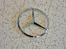"New Mercedes Benz Chrome Star Emblem Logo Badge 114mm/4.5"" NT - Free US Shipping"