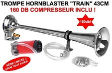 TGV! KLAXON HORNBLASTER TRAIN 160db KIT AVEC COMPRESSEUR KDJ LAND F150 JEEP LAND