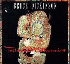 "BRUCE DICKINSON - 12"" - Tattooed Millionaire + Poster (3 Tracks) Iron Maiden"