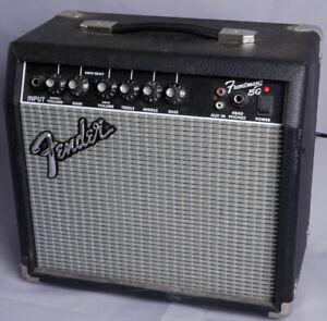 Fender Frontman 15G Guitar / Musical Instrument Amplifier Tested