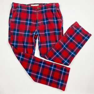 ABERCROMBIE & FITCH Plaid Flannel Pajama Pants - Size XL