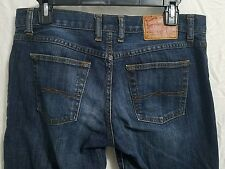 Lucky Brand Dungarees. women's size 30. classic fit crop. EUC stretch denim.