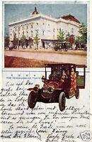 16623/ Foto AK, The Ueno Park Ishidan Tokyo von Tokyo nach Berlin gel., 1921