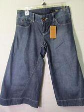 Express X2 Womens Cropped Flare Denim Pants 6 NWT (b18)