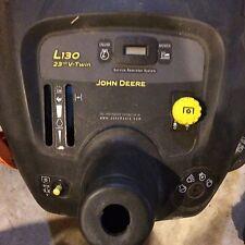 John Deere L130 Lawn Mower Dash and Controls USED
