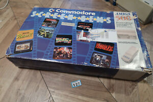 Commodore Amiga 500 Screen Gems Computer Box and Inserts only NO Computer