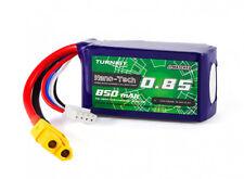 Turnigy Nano-Tech Plus 850mAh 3S 11.1V 70C 140C LiPo Battery XT60 Racing Drone