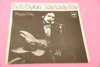 "SOLO COPERTINA BOB DYLAN 7"" LAY LAY LAY ORIG ITALY 1969"