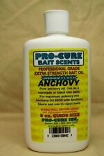 New Pro-Cure Bait Oil Anchovy Oil 8oz B8-Anc