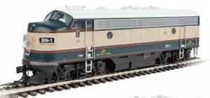 Walthers Mainline 910-9936 Burlington Northern EMD F7 A Diesel Engine