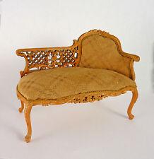 Dollhouse Miniature JBM French Rococo Chaise Lounge, J31055WG