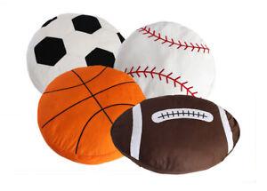 Gift Basketball Baseball Rugby Football Soccer Ball Plush Cushion Pillow Toy