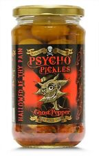 Dr burnorium 450g jarra psicópata en escabeche cebollas & Ghost Chilli Peppers Naga Jolokia