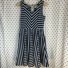 8ba37bcfcb2c7 Anthropologie Saturday Sunday blue mint green striped dress size small  striped