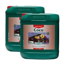 Canna Coco A+B 2x5L Fertilizzanti Crescita e Fioritura per Coltivazione in Cocco
