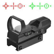 Tactical 5 MOA Red Dot Sight Green Reflex Holographic Scope Reticle 20mm Rail