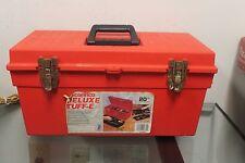 20 Inch Contico Deluxe Tuff- E General Purpose Steel Tool Box Red R-420-ds
